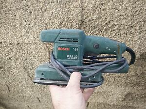 Bosch pss22 Electric sander FOR PARTS - NOT WORKING WELL