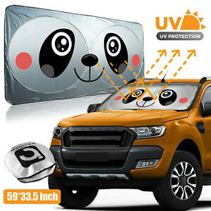 Car Auto Front Window Sun Visor Shade Cover Windshield Sunshade Sun Uv Protector