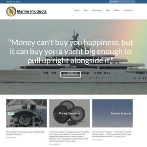 Marine Website Business For Sale 799 60 A Sale Instant Traffic System
