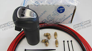 10 Speed Eaton Fuller Transmission A6909 Shift Knob 2 Line Air Line Kit