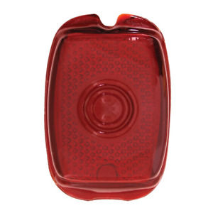 1937 1953 Chevy Pickup Truck Red Glass Lens Tail Light Lamp