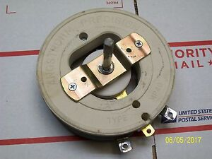 Angstrohm Precision Resistor 600v 2500 Ohms 346 Amps 844c Type Mp40
