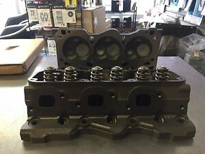 Pair Of Buick 3 8l Series 2 3800 Non supercharged Heads