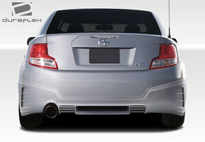 11 13 Scion Tc Duraflex Gt r Rear Bumper 1pc Body Kit 108469