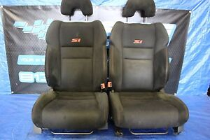 2007 07 Honda Civic Si Coupe Oem Lh Rh Front Seats Pair Assy Fg2 K20z3 9212