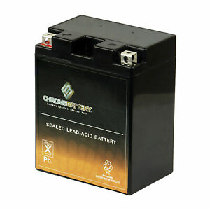 YTX14AH-BS Rechargeable AGM Battery for BRP Can-Am ATV 200cc Rally 2002-2006