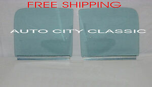 51 54 Chevy Gmc Pickup Truck Door Glasses Left Driver Right Pass Assembled