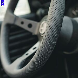 Steering Wheel Perforated Leather Black Stitch Viilante Tourismo Vw Golf Gti