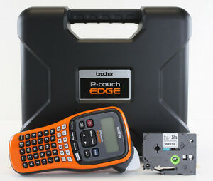 New Brother Pt e110 Label Maker P touch Pte110 Includes Carrying Case