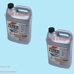 2 Gallons Engine Coolant Antifreeze Zxel1 Zerex Dex cool Orange Fits Land Rover
