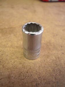 Snap On 8mm Metric Tmmd8 1 4 Dr Socket 12 Pt