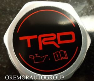Genuine Toyota Scion Xb Trd Forged Billet Oil Cap Ptr35 00110 Oem New