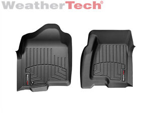 Weathertech Custom Car Truck Floor Mats Floorliner 440031 1st Row Black
