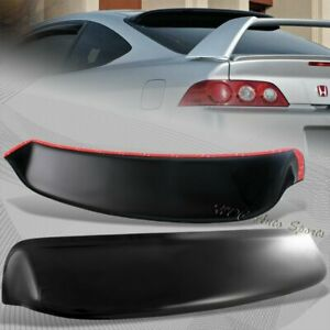 For 2002 2006 Acura Rsx Abs Plastic Black Rear Roof Spoiler Window Visor Wing