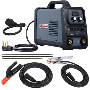 Arc 160d 160 Amp Stick Arc Dc Inverter Welder 110 230v Dual Voltage Welding New