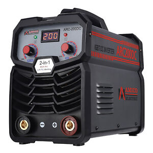 Arc 200 200 Amp Pro Stick Arc Dc Inverter Welder 80 Duty Cycle 100 250v Wid