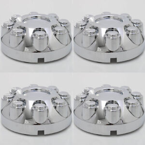 Set 4pc Fits Ram 2500 3500 Truck 17 Chrome Wheel Center Hub Caps 8 Lug Covers