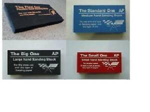 Sanding Rubbing Blocks For Autobody Paint Repairs Set Of 4 Different Sizes