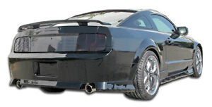 05 09 Ford Mustang Duraflex Stallion Rear Bumper 1pc Body Kit 104298
