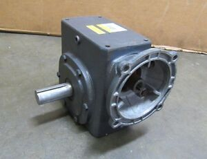 Dayton 4z730 Right Angle Gearbox Speed Reducer 60 1 Ratio 1 2hp 1921 In lb