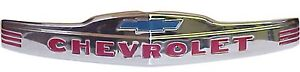 1947 1948 1949 1950 1951 1952 1953 Front Hood Emblem Stainless Steel Chevy Truck
