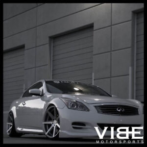 19 Rohana Rc7 Silver Concave Wheels Rims Fits Infiniti G37 G37s Coupe