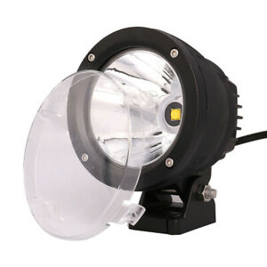 4 25w Roof Led Work Driving Light Spot Beam Offroad Fog Lamp For Jeep Truck Suv