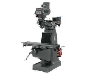 Jet Jtm 4vs 1 Mill With Acu rite Vue Dro With X axis Powerfeed 690402