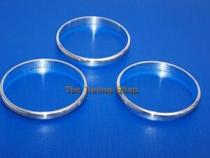 91 99 Vw Golf Mk3 Corrado Jetta Polo Chrome Heater Trim Rings Bezels Set Of 3