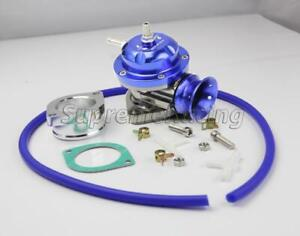Type Rs Blue Turbo Charger Bov Blow Off Valve Gasket Adapter Hose