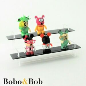 Collectibles Tiered Display Stand Figures Models Acrylic 3 Shelf Colours