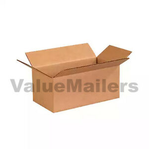 100 10x7x4 Cardboard Packing Mailing Moving Shipping Boxes Corrugated Cartons
