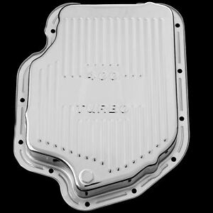 Chrome Turbo 400 Transmission Pan For Gm Chevy Pontiac And Olds Th400 Trans