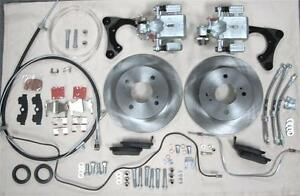 Mg Mgb Rear Wire Wheel Disc Brake Conversion Kit New 1968 1980