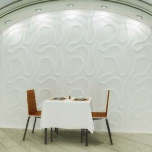 Plastic Mold Wall Stone veil 3d Decorative Wall Panels Form For Plaster Gypsym