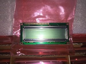 10 Piece Lot Lcm s01602dsr a Lumex Lcd Module 16x2 Character