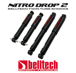 98 03 Ford Ranger 2wd Nitro Drop 2 Front Rear Shocks For 3 4 Drop