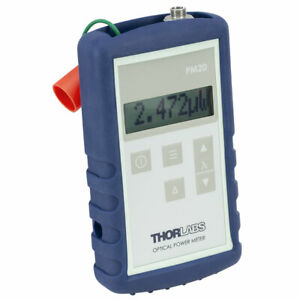 New Thorlabs Pm20ch Handheld Fiber optic Power Meter 800 1700nm 50 23db