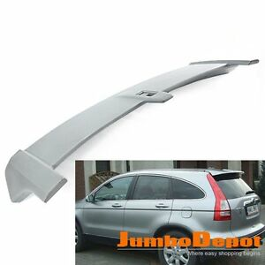 Us 1x Unpainted Abs Roof Rear Trunk Spoiler Oe Style For Honda Crv 2007 2011