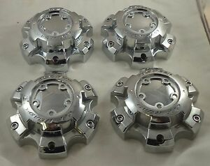 Tuscany Off Road Wheels Chrome Custom Wheel Center Cap Caps Set 4 89 9865 Cap