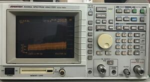 Advantest R3365a Spectrum Analyzer With Tg