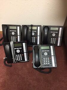 Complete Avaya Ip Office 500 V2 Phone System With 5 Model 1416 Phones
