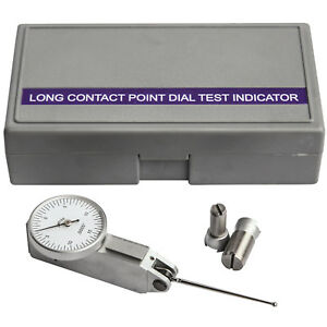 Hfs r 0 03 X 0 0005 Inch Dial Test Indicators Extra Long Testing Bar 1 47