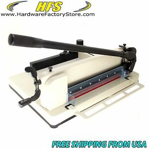 Hfs 17 Guillotine Stack Paper Cutter