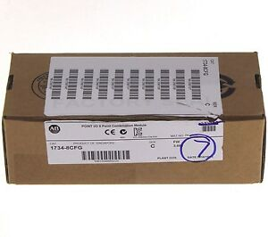 Lot Of 7 New 2014 1734 8cfg c Allen Bradley Point I o Combination Input Output