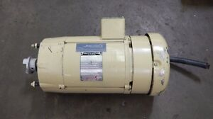 Baldor 27f59 1196 1hp Dc Electric Motor 180v 1750rpm 26c Frame