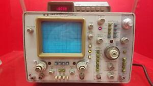 Hp Agilent 1740a Oscilloscope 100mhz As is Option 034