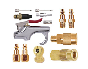 Husky Air Compressor Accessory Kit Brass 13-Piece Quick Connection Fitting