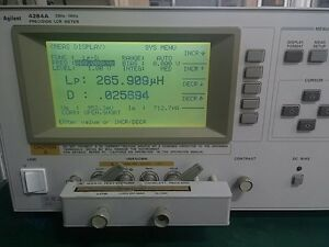 Agilent 4284a Lcr Meter Agilent Brand With Opt 001 006