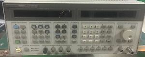 Hp 8665b Signal Generator 10mhz 6000mhz Opt 001 004